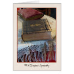 With Deepest Sympathy, Vintage Bible Cards