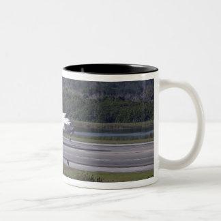 With drag chute unfurled 2 Two-Tone coffee mug