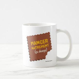 With each one its good food! basic white mug