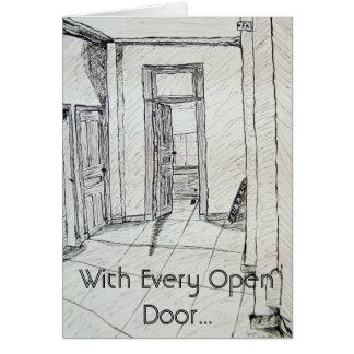 With Every Open Door... Card