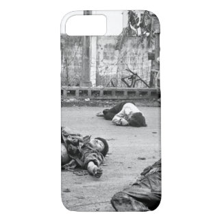 With fear and apprehension showing on their faces_ iPhone 7 case