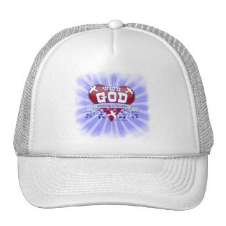 With God Anything is Possible Trucker Hats