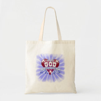 With God Anything is Possible Tote Bag