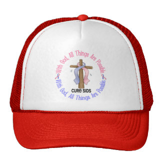 WITH GOD CROSS SIDS T-Shirts & Gifts Trucker Hat