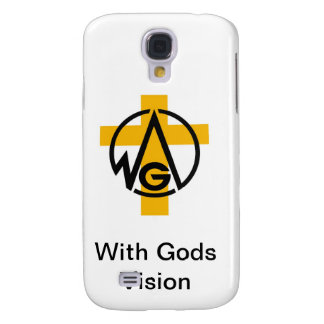 With Gods Vision Samsung Galaxy S4 Case