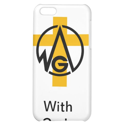 With Gods Vision iPhone 5C Cover