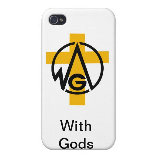With Gods Vision iPhone 4/4S Cover
