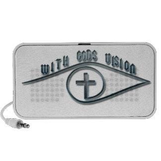 With GODS Vision iPod Speaker
