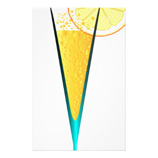 With Ice And Lemon Stationery