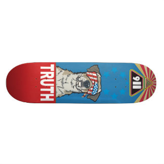 With Liberty and Justice for All- Old School Board 21.3 Cm Mini Skateboard Deck