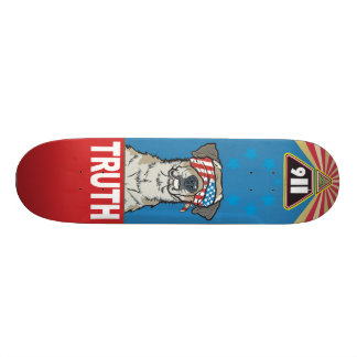 """With Liberty and Justice for All"" Skateboard"