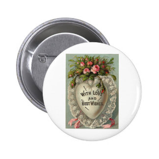 With Love and Best Wishes Pinback Button