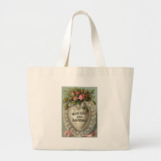 With Love and Best Wishes Canvas Bag