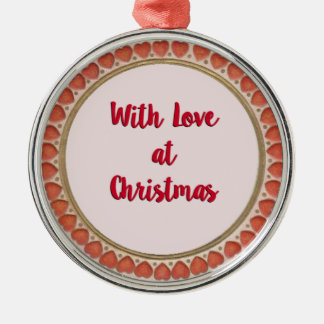 With Love at Christmas Christmas Ornament