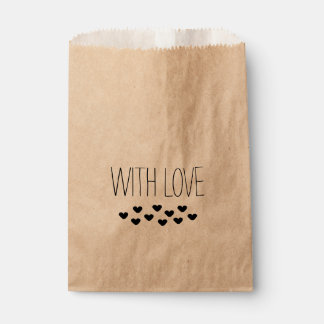 """""""WITH LOVE"""" FAVOUR BAGS"""