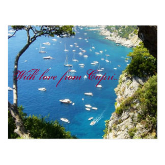 With love from Capri Postcard