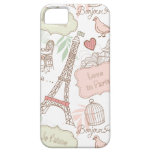 With Love From Paris iPhone 5 Cover