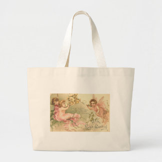 With Loves Greeting Canvas Bags