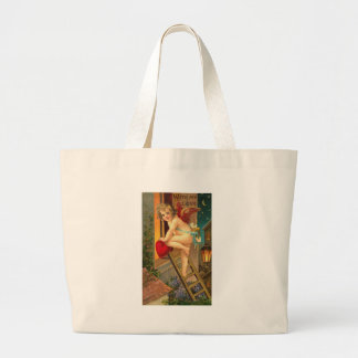 With My Love Cherub on Ladder Bags