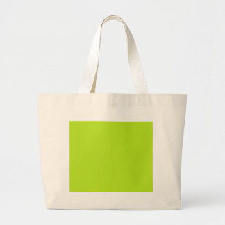 With Nothing On It Except Color  Bright Neon Green Canvas Bag