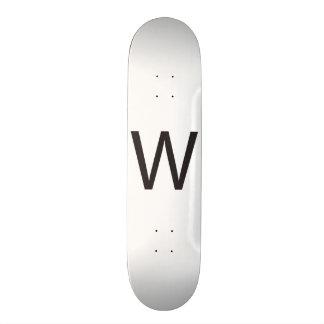 With -or- Working.ai Custom Skateboard
