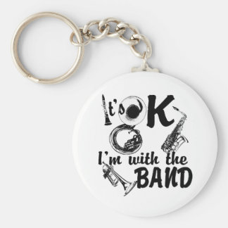 With the Band Key Ring