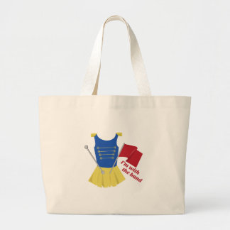 With the Band Large Tote Bag