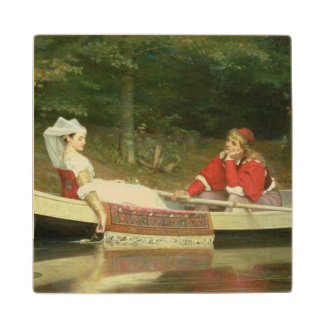 With The River, 1869 Wood Coaster