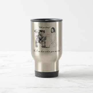 With you always soldier stainless steel travel mug