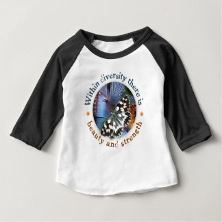 Within Diversity there is Beauty and Strength Baby T-Shirt