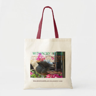 """""""Within My Means"""" BlogBag Budget Tote Bag"""
