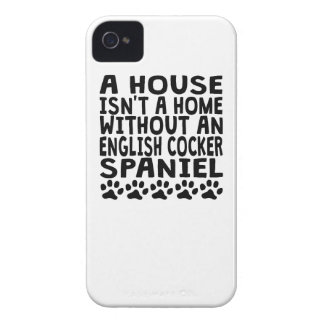 Without An English Cocker Spaniel iPhone 4 Case-Mate Case