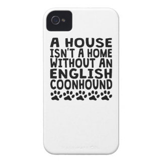 Without An English Coonhound iPhone 4 Case-Mate Case