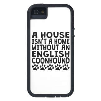 Without An English Coonhound iPhone 5 Case