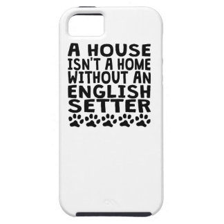 Without An English Setter iPhone 5 Covers