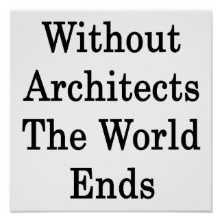 Without Architects The World Ends Poster