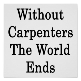 Without Carpenters The World Ends Posters
