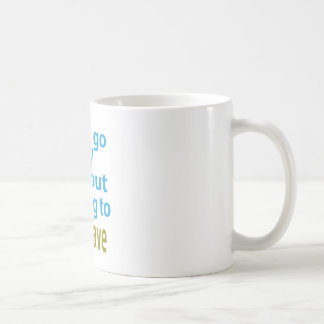 without listening to new wave. mug