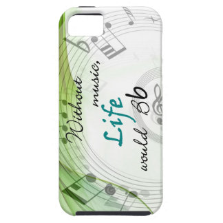Without Music, Life Would Bb iPhone 5 Covers