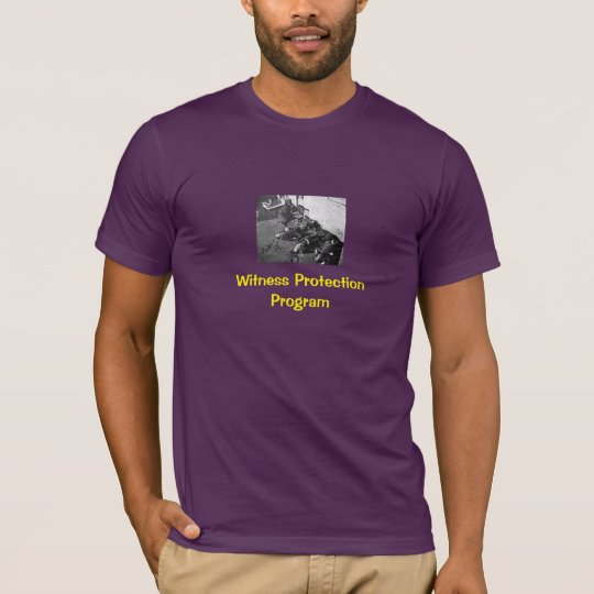 Witness Protection: T-Shirt (Dark)