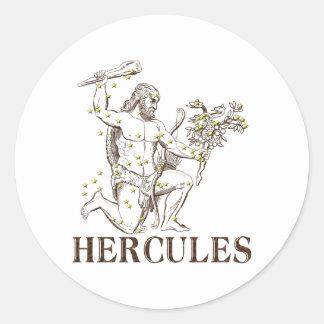 WITS: Hercules Classic Round Sticker