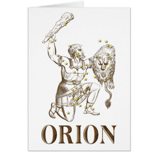 WITS Orion Greeting Card
