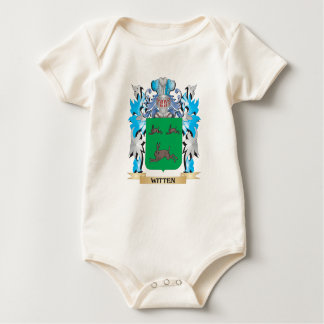 Witten Coat of Arms - Family Crest Baby Bodysuits