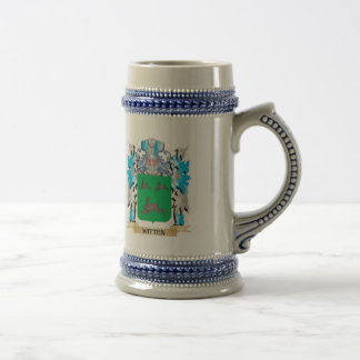 Witten Coat of Arms - Family Crest Beer Steins