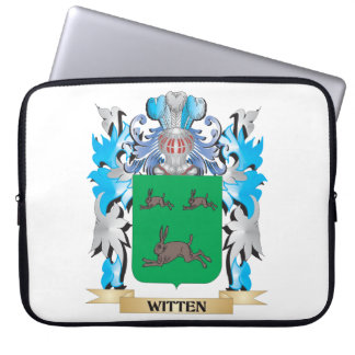 Witten Coat of Arms - Family Crest Laptop Sleeve