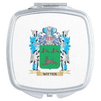 Witten Coat of Arms - Family Crest Travel Mirrors
