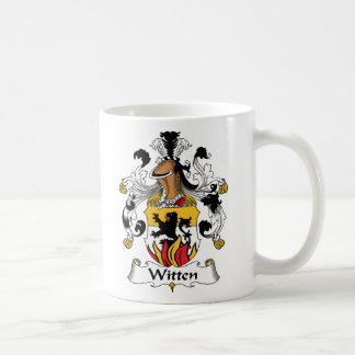 Witten Family Crest Basic White Mug