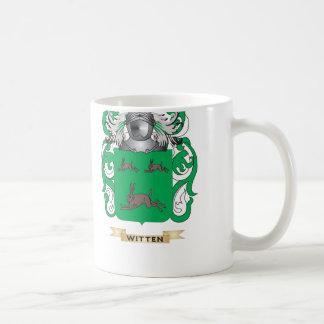Witten Family Crest (Coat of Arms) Basic White Mug