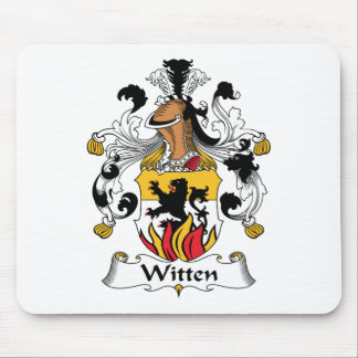 Witten Family Crest Mouse Mats