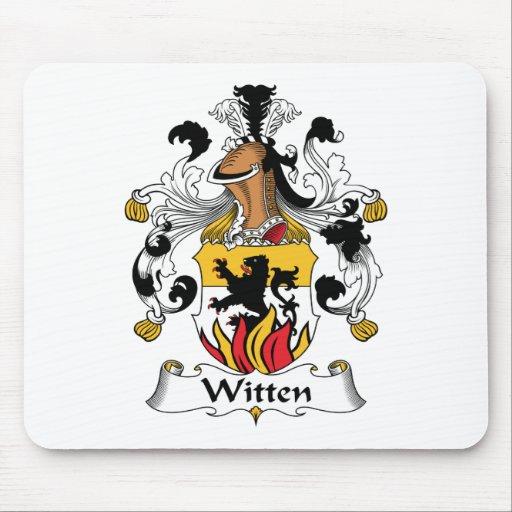 Witten Family Crest Mouse Mats